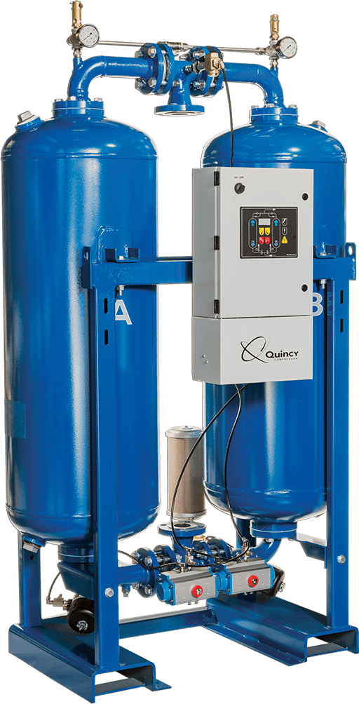 Desiccant Dryer For Industrial Air Compressor Systems