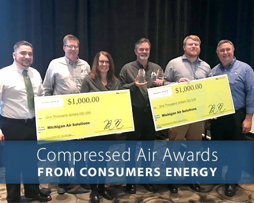 Consumers Energy Efficient Compressed Air